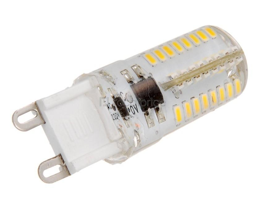 LED žárovka IdeaLED G9 SILICA 3W teplá bílá