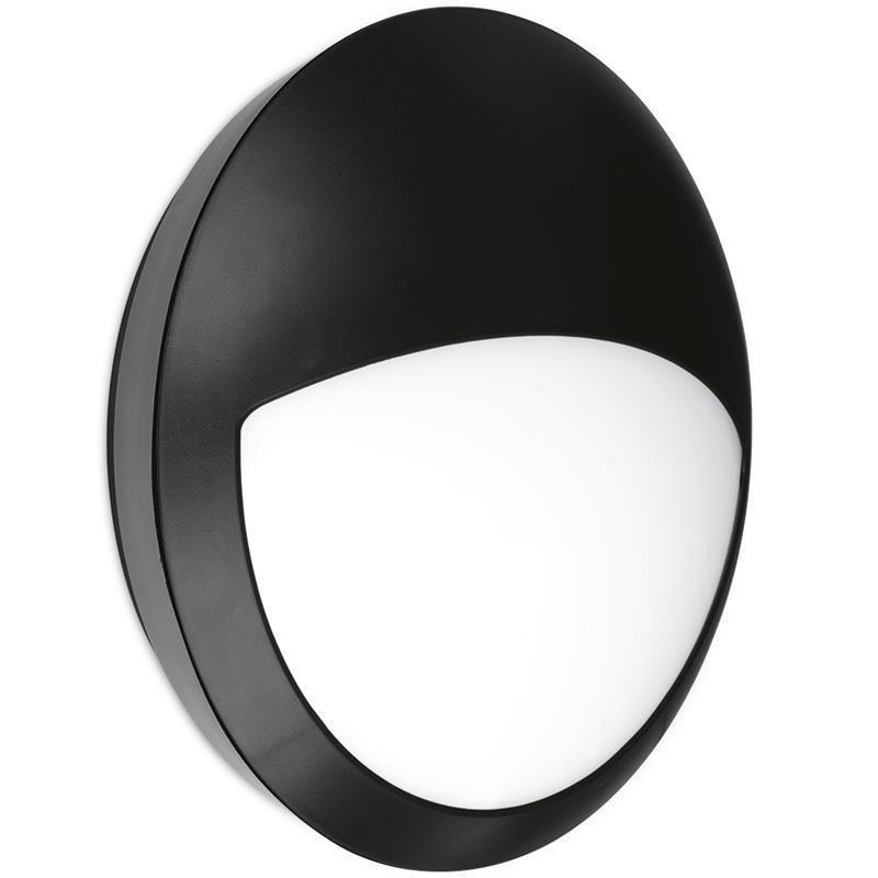 LED přisazené svítidlo s čidlem pohybu IDEALED ROOF2 MW IP66 12W teplá bílá