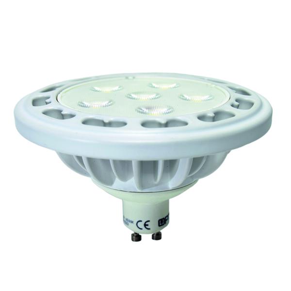 LED žárovka 12W GU10 AR111 teplá bílá