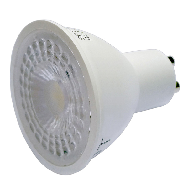 LED žárovka GU10 7W 560 lm 38° teplá bílá