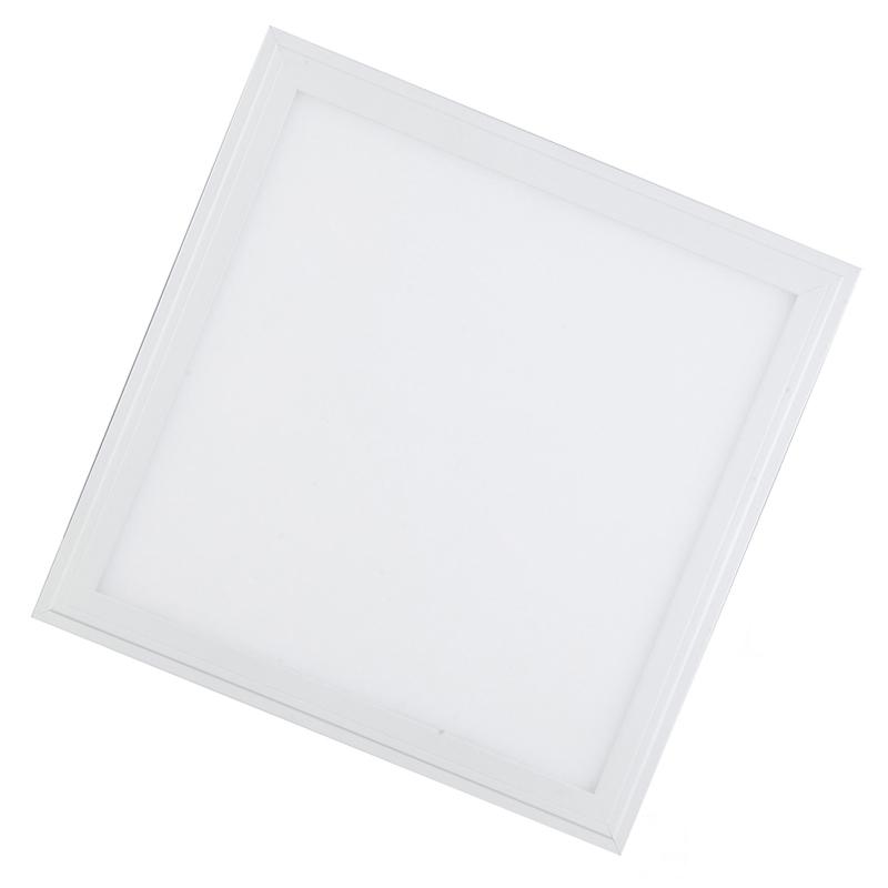 LED stropní panel 300x300 12W IP20, bílý rám, normální bílá