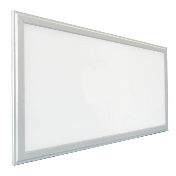 LED stropní panel 600x300 24W IP20, bílý rám, teplá bílá