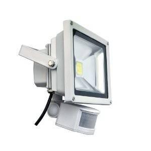 LED venkovní reflektor IDEALED 20W PIR