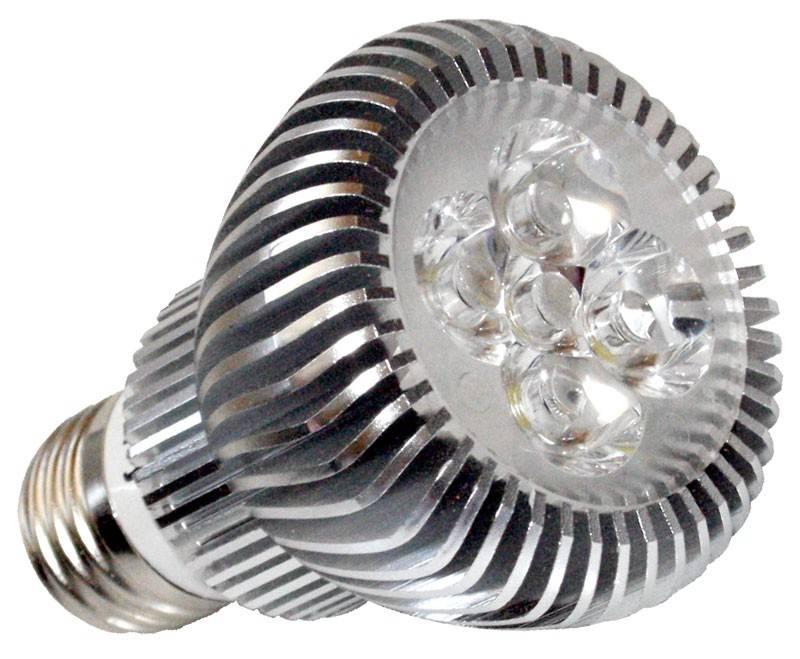 LED úsporná stmívatelná žárovka IdeaLED, E27, PAR20, studená bílá 6W