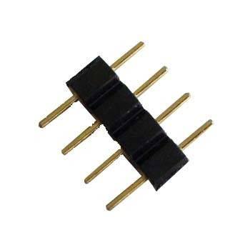 Konektor pro LED RGB pásky 10mm, čtyřpinový