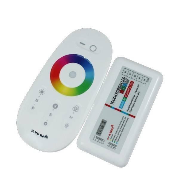 LED RGB dálkový ovladač WiFi RF 12V-24V