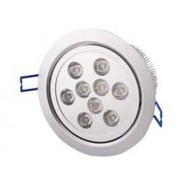 LED podhledové světlo 9x1W teplá bílá