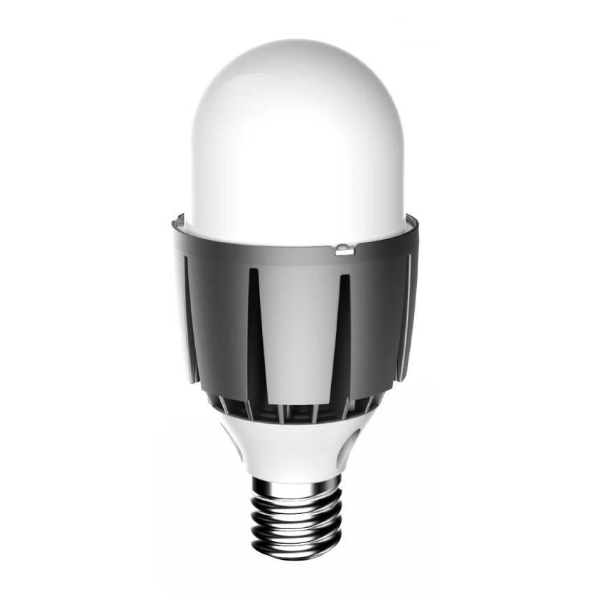 POSCO LED žárovka 36W E40 teplá bílá