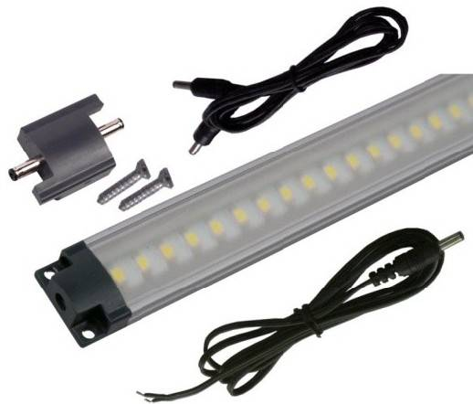 LED lišta SMD3528, 30cm, 3W, studená bílá