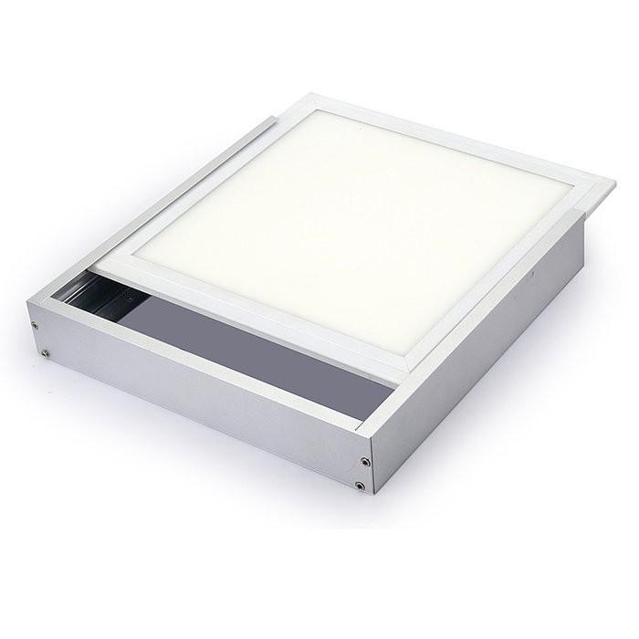 Instalační alu rámeček pro LED panel 120x30, montáž na strop