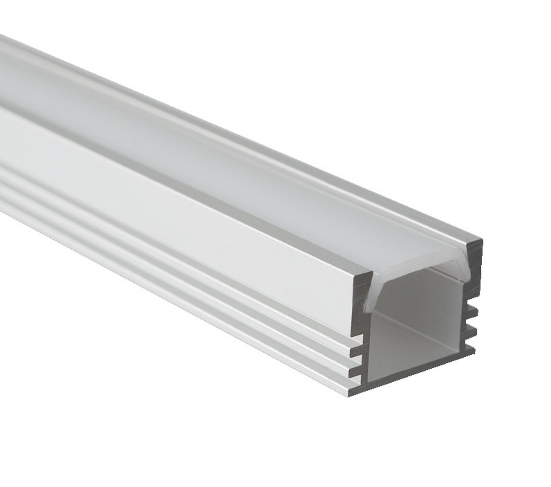 Hliníkový profil vyšší pro LED pásku FP-1718 2m