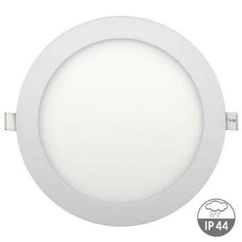 LED podhledové svítidlo IDEALED FLAT2 24W IP44 kruh, teplá bílá