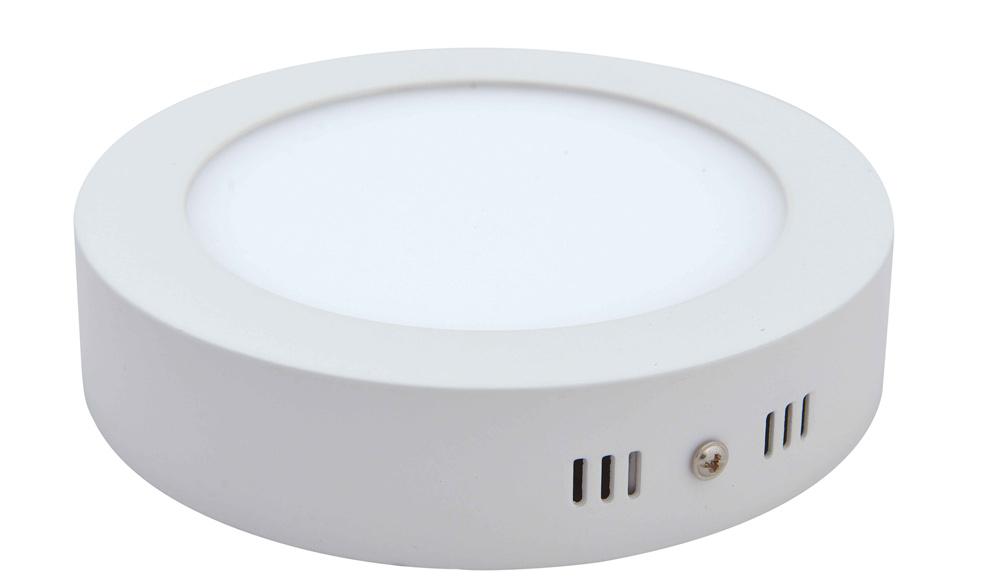 LED přisazené svítidlo s čidlem pohybu SURF MW 24W, kruh, denní bílá