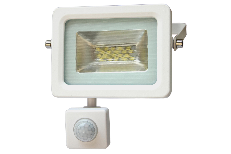 LED venkovní reflektor SMD I-Design PIR 10W denní bílá