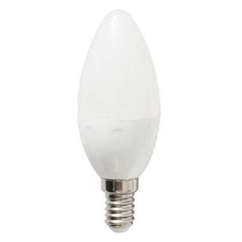 LED žárovka Aigostar 7W E14 C37, teplá bílá