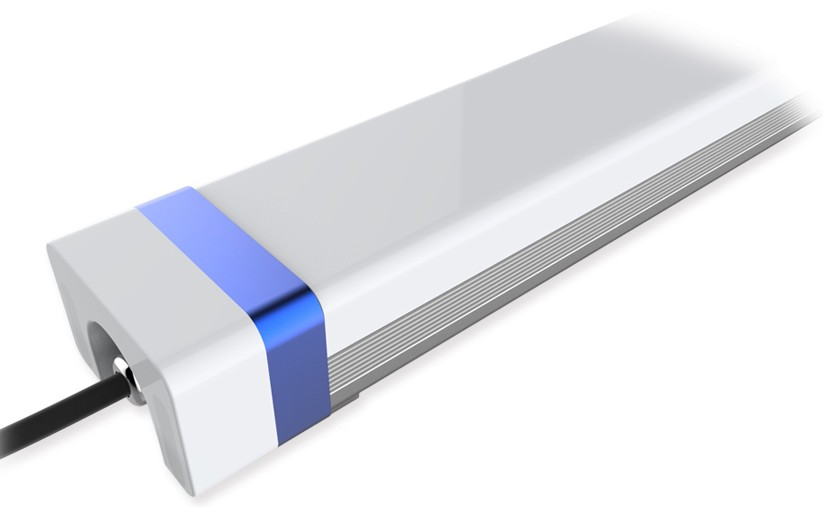 LED lineární prachotěsné svítidlo s pohybovým čidlem MW IP66 20W