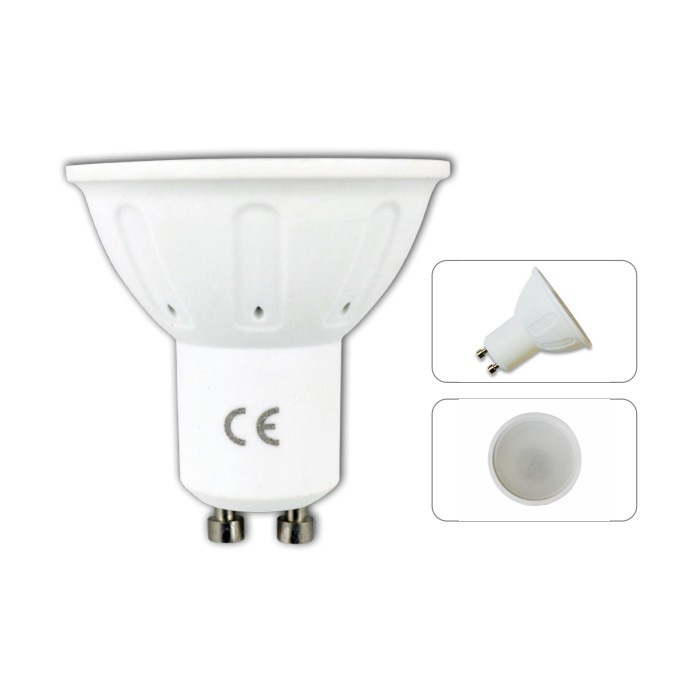 LED žárovka Aigostar 4W GU10, teplá bílá