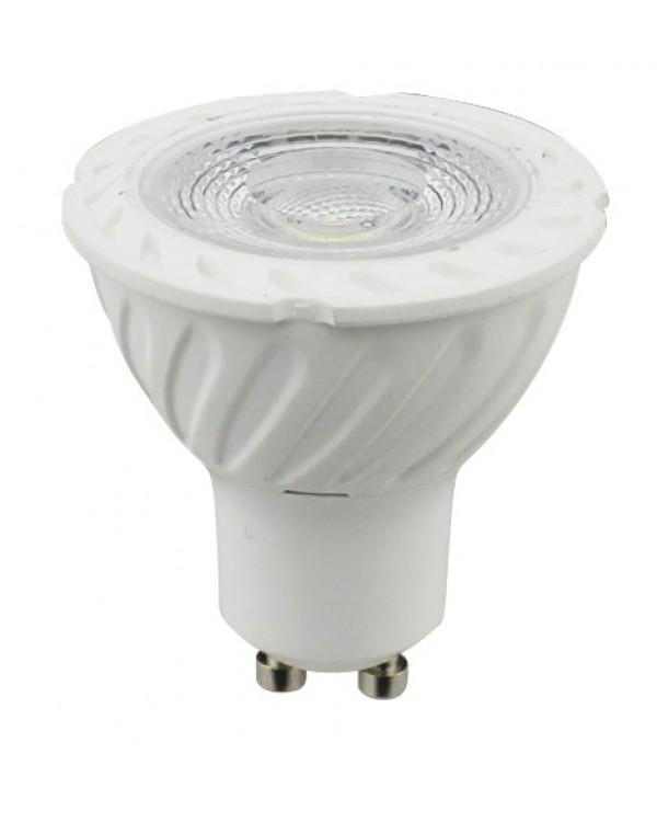 LED stmívatelná žárovka GU10 7W teplá bílá