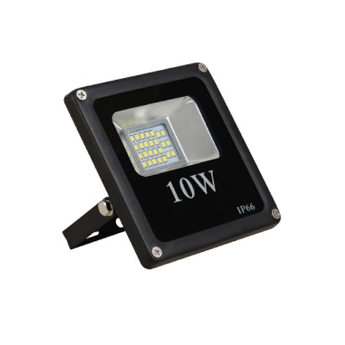 LED venkovní reflektor SLIM SMD IP66 10W studená bílá