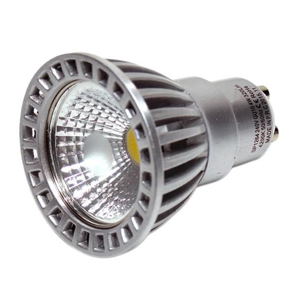 LED žárovka GU10 6W 480 lm 50° teplá bílá