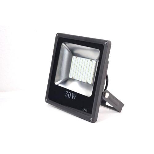 LED venkovní reflektor SLIM SMD IP66 30W studená bílá