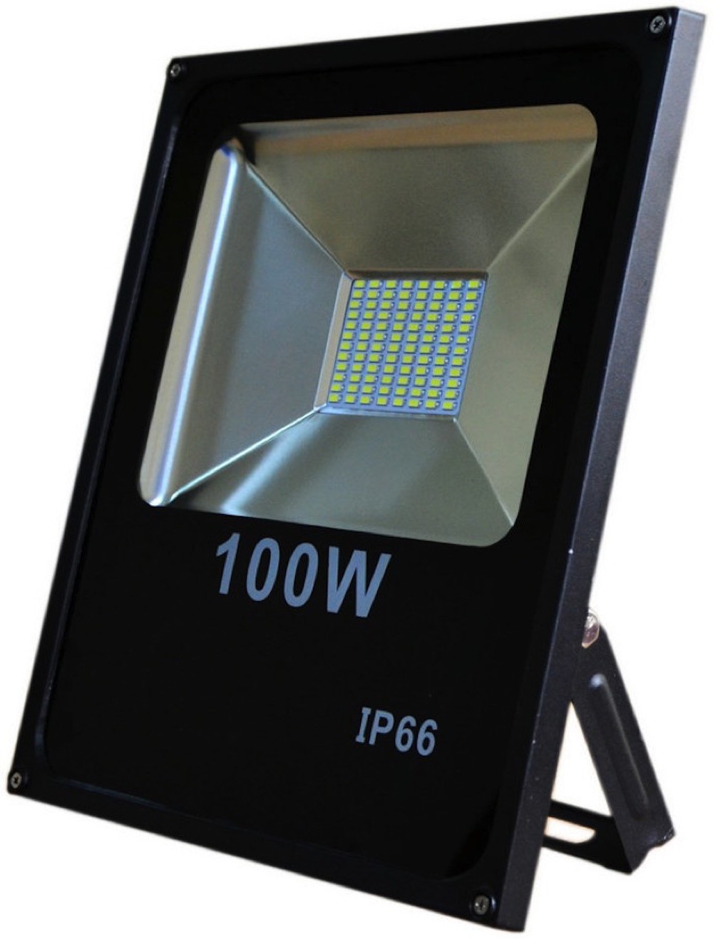 LED venkovní reflektor SLIM SMD IP66 100W studená bílá