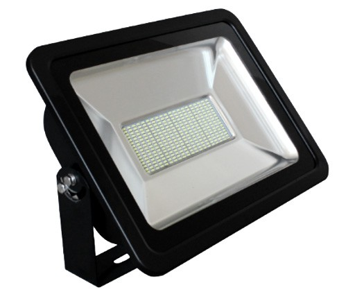 LED venkovní reflektor SLIM SMD IP66 150W studená bílá