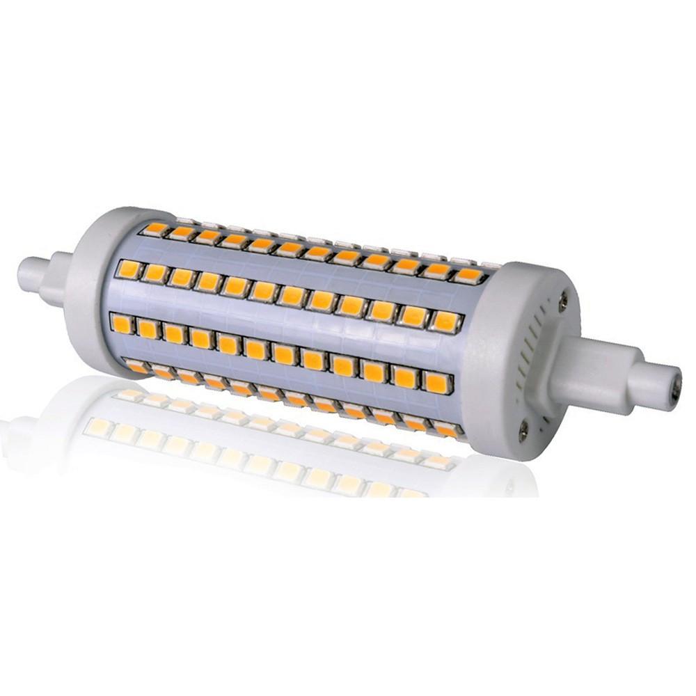LED stmívatelná žárovka SMD2835 10W R7s 118mm studená bílá
