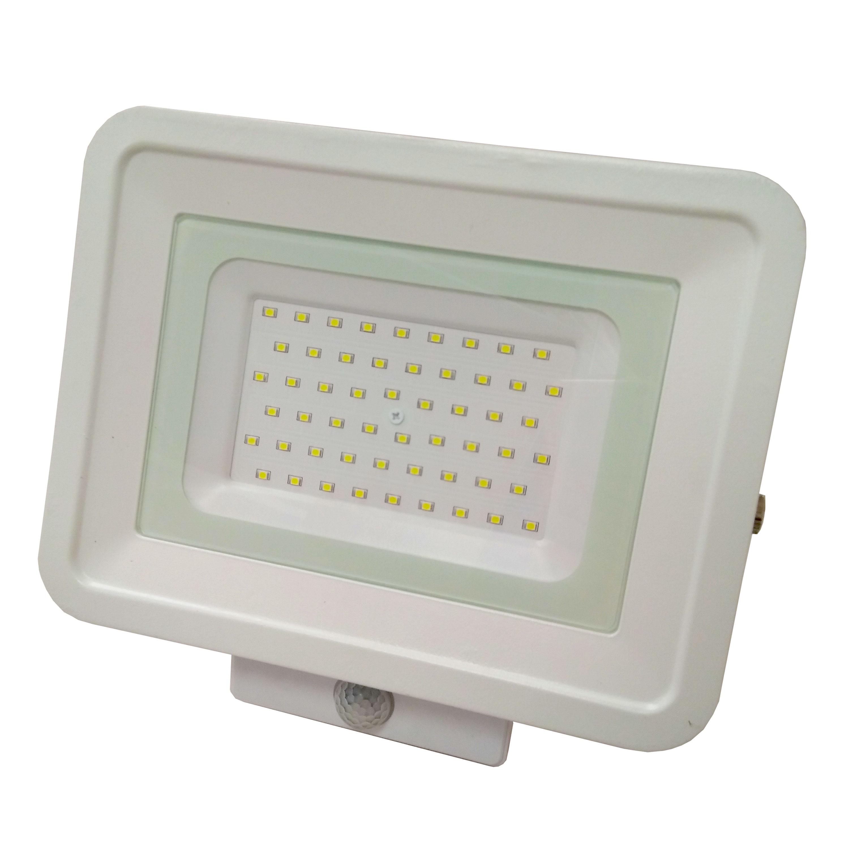 LED venkovní reflektor SMD Classic2 PIR bílý 50W studená bílá