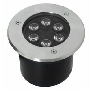 LED podzemní reflektor 6W studená bílá
