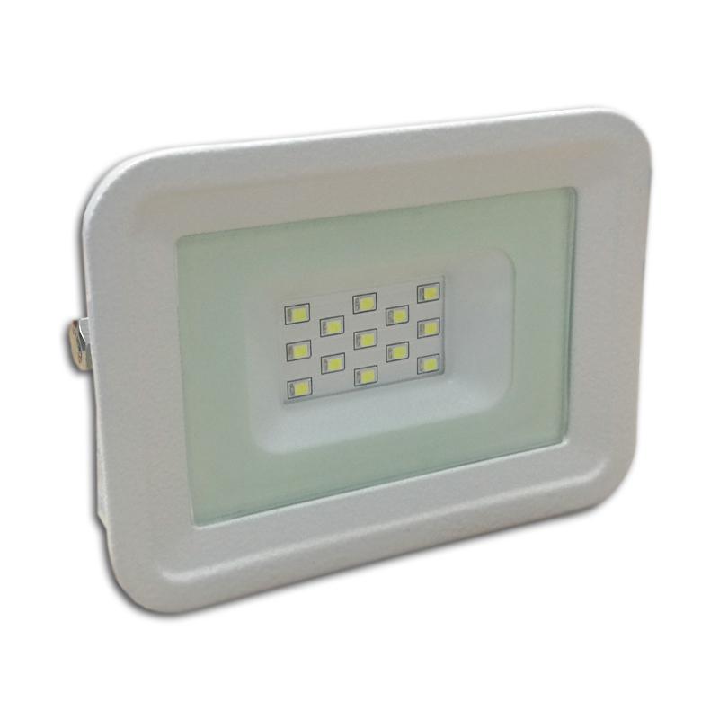 LED venkovní reflektor SLIM SMD CLASSIC IP65 10W neutrální bílá