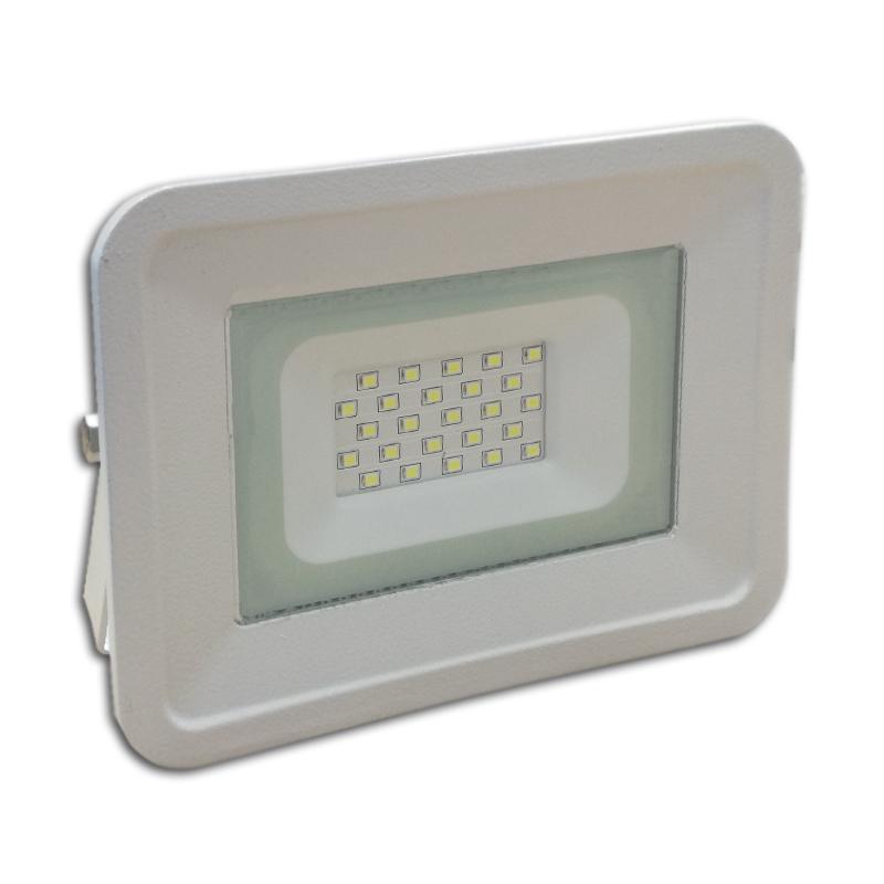 LED venkovní reflektor SLIM SMD CLASSIC IP65 20W studená bílá