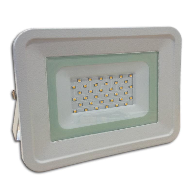 LED venkovní reflektor SLIM SMD CLASSIC IP65 30W studená bílá