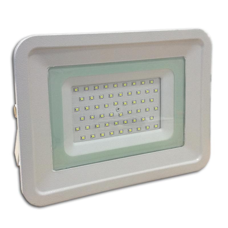 LED venkovní reflektor SLIM SMD CLASSIC IP65 50W studená bílá