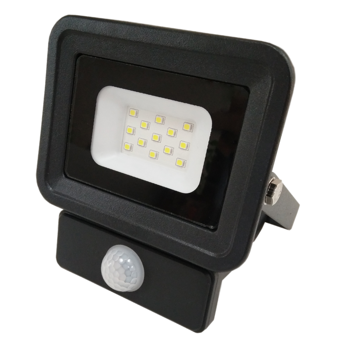 LED venkovní reflektor SMD Classic2 PIR černý 10W studená bílá