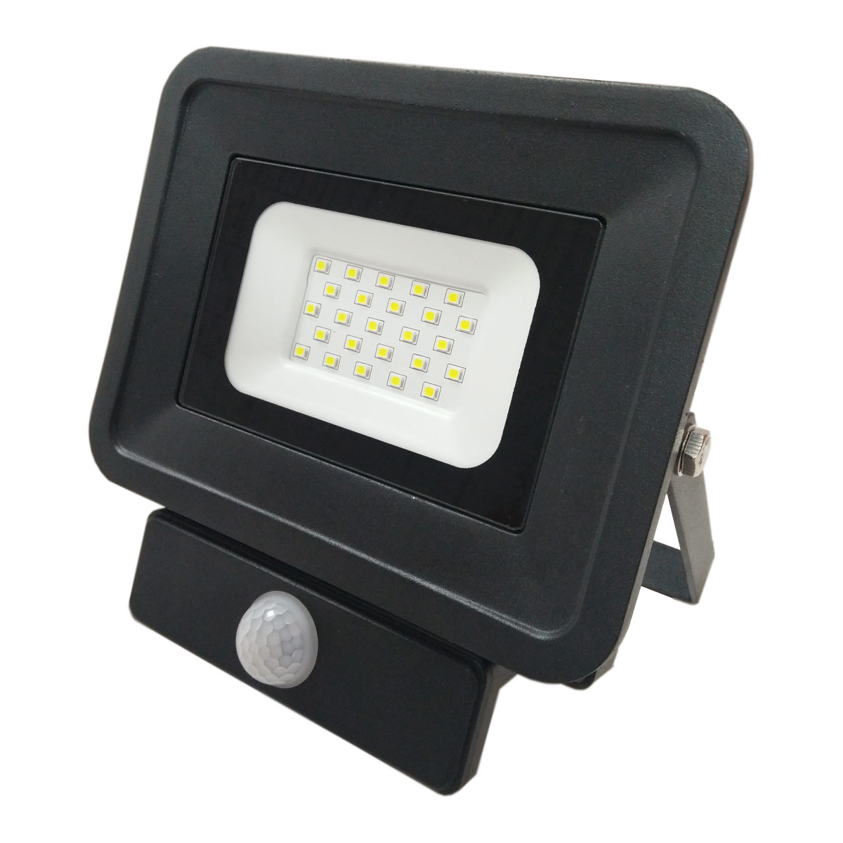 LED venkovní reflektor SMD Classic2 PIR černý 20W studená bílá