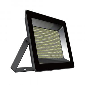 LED venkovní reflektor SLIM SMD PREMIUM IP65 černý 100W denní bílá