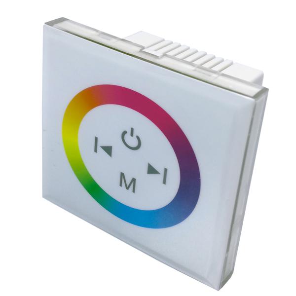 Dotykový ovladač pro RGB LED pásky, bílý, 12V/24V