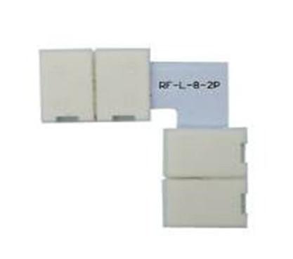 Konektor rohový otvírací pro LED pásku RGB 10mm