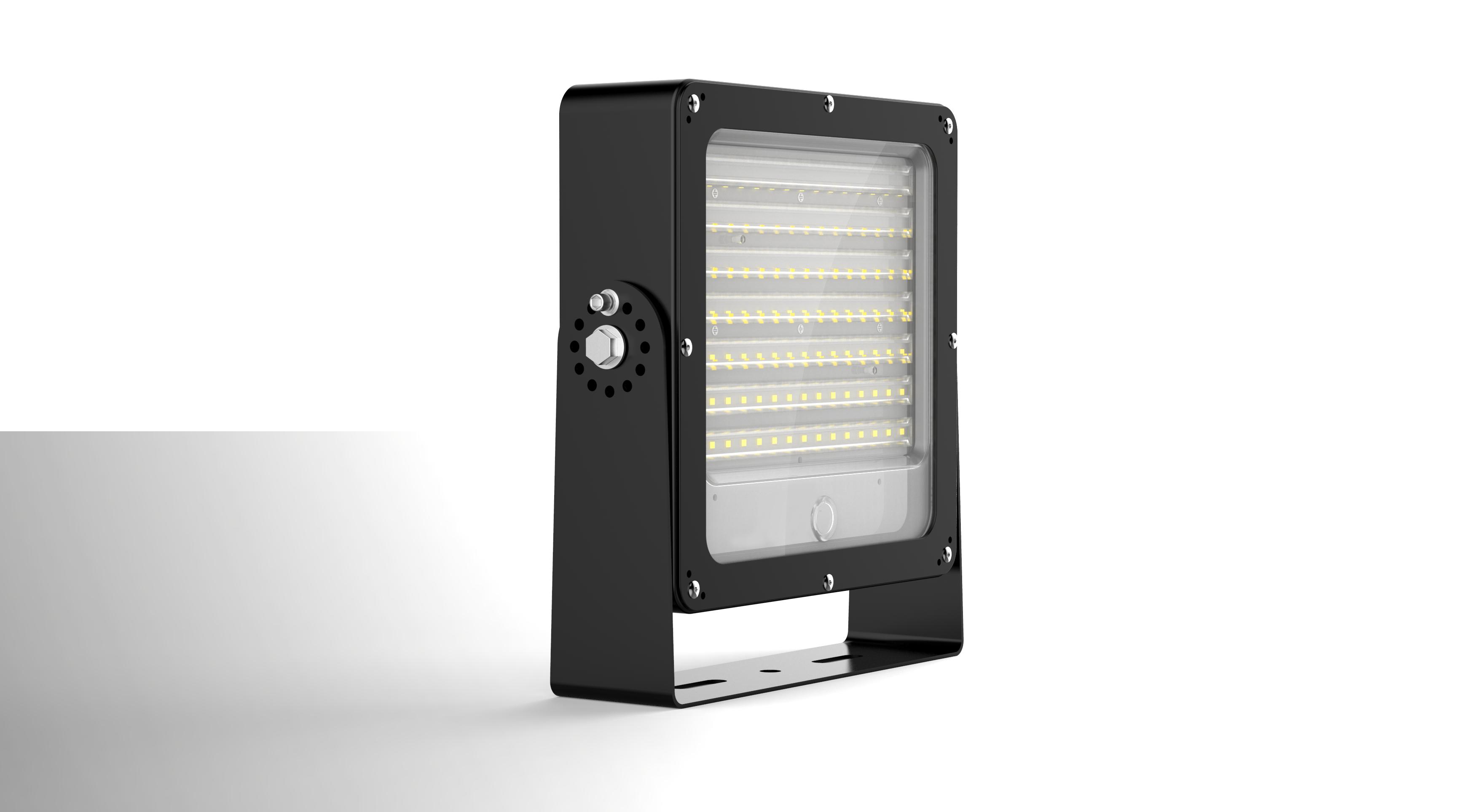 LED venkovní reflektor SMD Profi FL02 50W 5000K