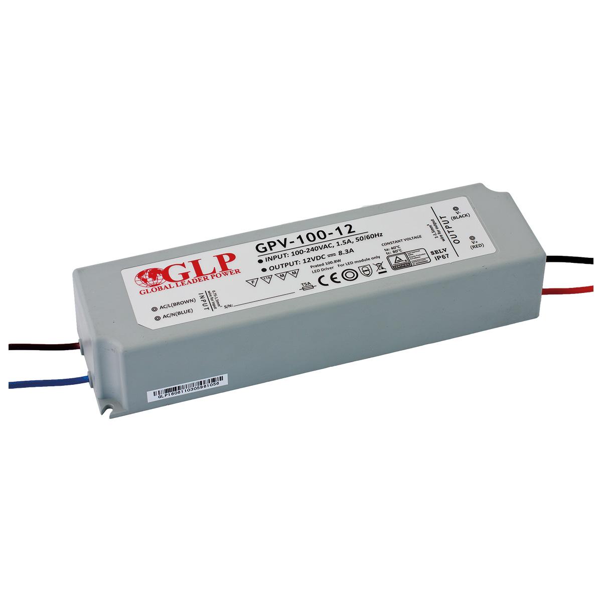 Napájecí zdroj napěťový GLP GPV-100-12