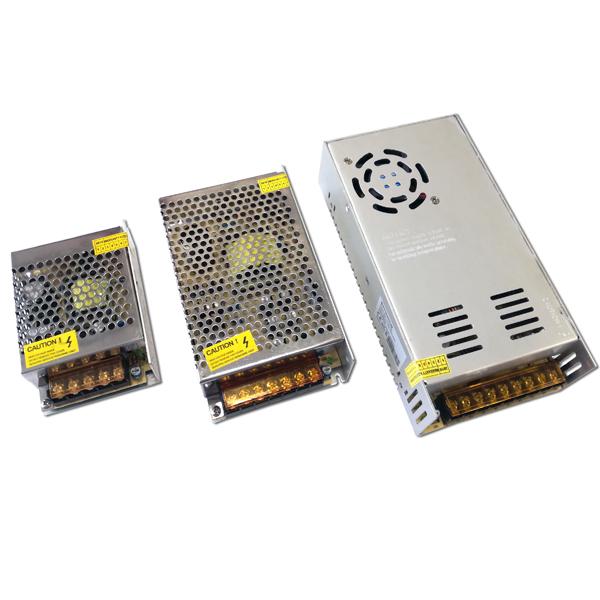 Trafo pro LED pásky interiérové kovové, 60W, 12V DC, 5A
