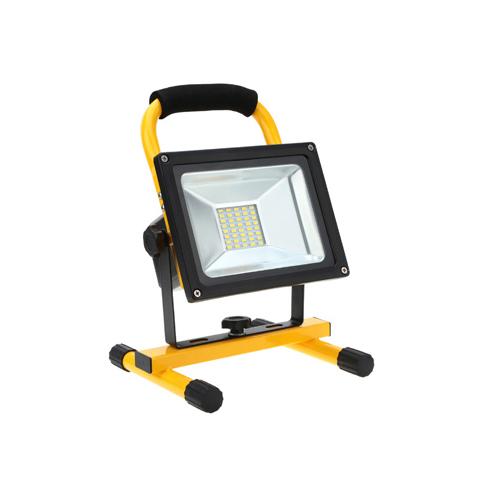 LED přenosný nabíjecí reflektor 20W 4000K