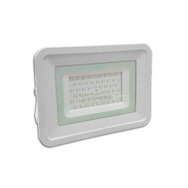 LED venkovní reflektor SLIM SMD CLASSIC2 bílý IP65 50W teplá bílá