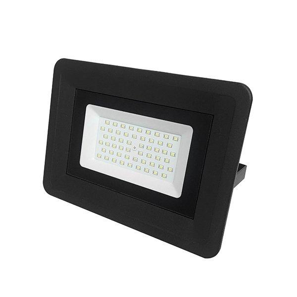 LED venkovní reflektor SLIM SMD CLASSIC2 černý IP65 50W studená bílá
