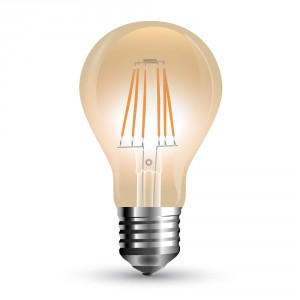 LED žárovka E27 filament 10W teplá bílá 2200K