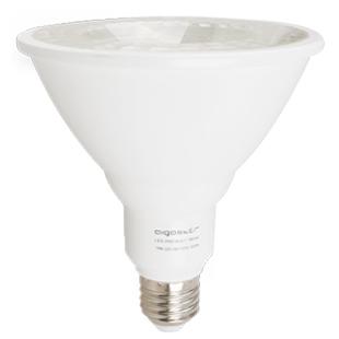 LED žárovka Aigostar 18W E27 PAR38 COB, teplá bílá