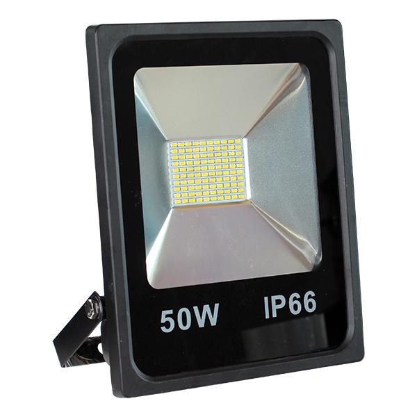 LED venkovní reflektor SLIM SMD IP66 50W studená bílá